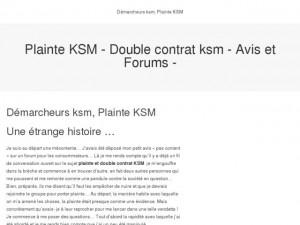 plainte-ksm.com